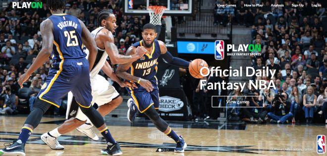 PlayON plateforme officielle de Fantasy League Basketball NBA