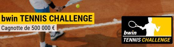 Challenge tennis Bwin avec une dotation de 500000€ à la clef
