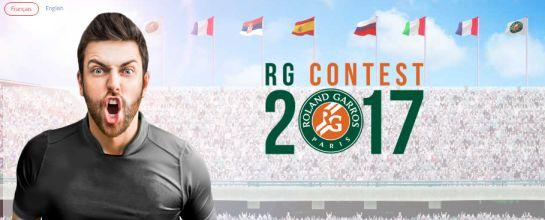 RG Contest 2017 : le jeu Fantasy League de Roland Garros