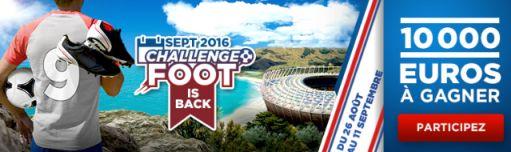Challenge foot betclic