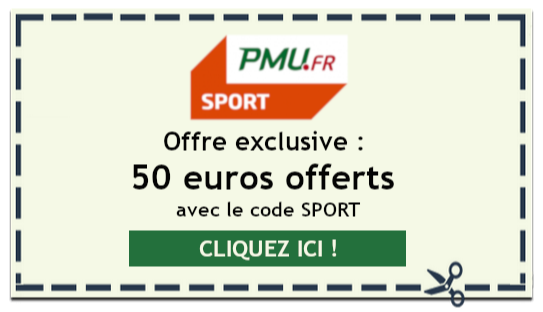 Offre spéciale PMU : 50 euros offerts