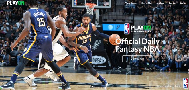 PlayON plateforme officielle de Fantasy League Basketball NBA