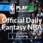PlayON NBA plateforme officielle de DFS
