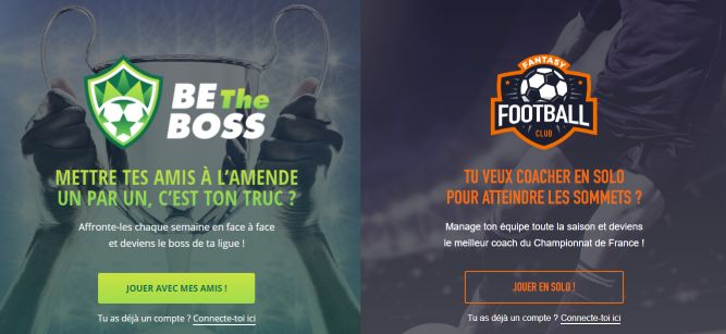 Be the boss et Fantasy Football Club