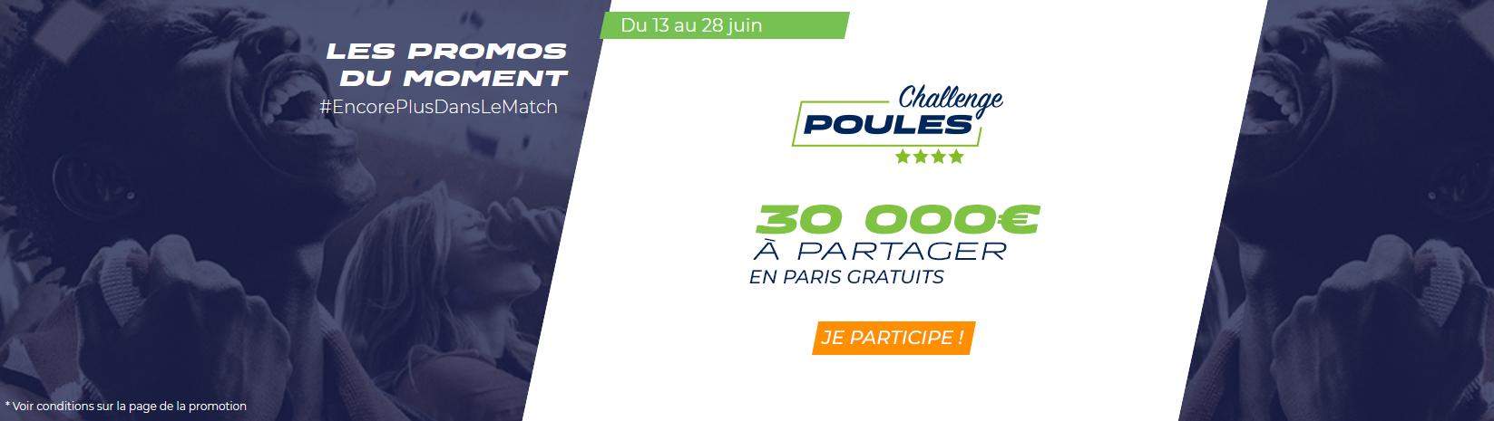 Bonus Coupe du Monde Parions Sport
