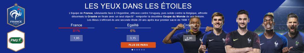 France favori Coupe du Monde 2018