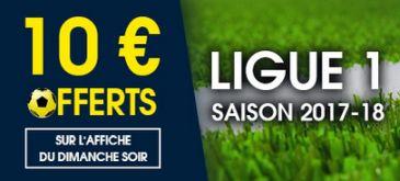 Paris Ligue 1 bonus