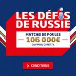 Quels bookmakers proposent les meilleurs bonus Coupe du Monde ?