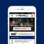 Application Parions Sport en ligne pour parier depuis votre mobile