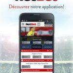 Application Netbet : les paris sportifs directement sur votre smartphone