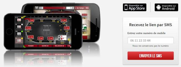 Application Poker Winamax