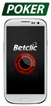 Betclic mobile Poker