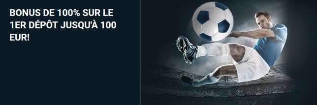 Bonus 1xbet : jusqu'à 100€ offerts