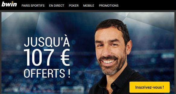 Bonus Bwin 107€