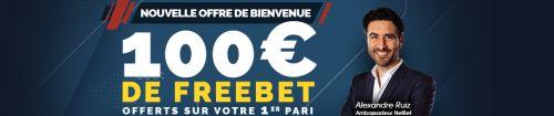 Bonus Netbet de 100€