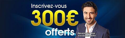 Bonus Netbet 300€