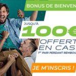 Code Promo Parions Sport : bonus CASH de 100€ en Novembre 2018