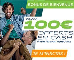 Bonus Parions Sport 100 euros