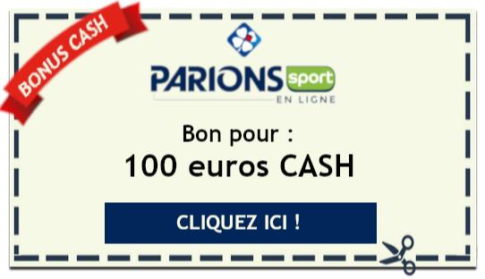 Bonus cash Parions Sport