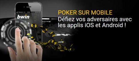 Bwin Poker mobile : jouer sur votre smartphone