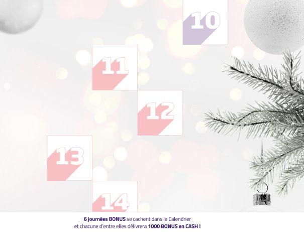 Noël 2017 : Calendrier de l'avent PMU