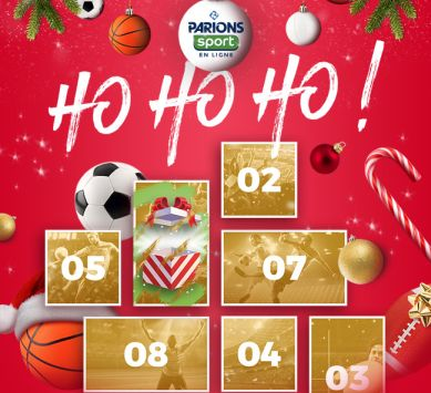 Noël 2017 : Calendrier de l'avent Parions Sport
