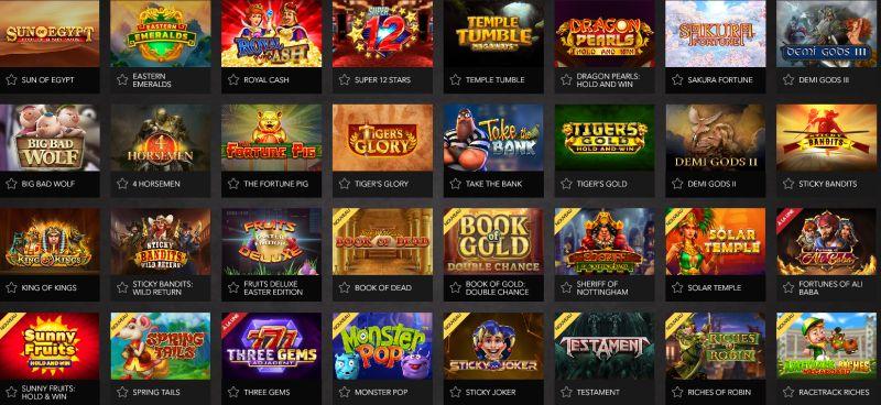 Casino Joka jeux