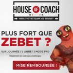 Challenge Fantasy ZEbet House of Coach