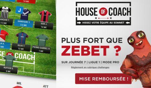 Challenge Fantasy House of Coach sur ZEbet