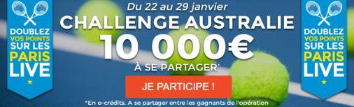 Challenge Open Australie