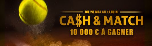 Challenge Roland Garros sur Winamax : 10.000€ à gagner