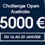 Challenge Netbet pour l Open d Australie: 5000€ à gagner