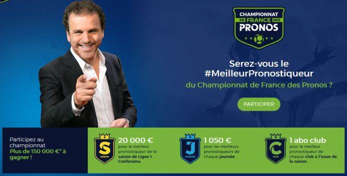 Championnat de France des Pronos : le jeu football de la Française des Jeux