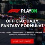 Fantasy Formula1 : la ligue virtuelle de F1 lancée par PlayON