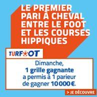 Gains Turfoot PMU cagnotte de 10.000 remporté par un parieur
