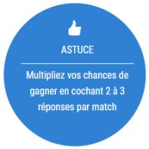 Grille France-Pari : sélectionner jusqu'à 3 résultats par match