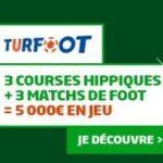 Grille TURFOOT avis:  Turf + Foot PMU = CARTON assuré !