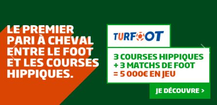Grille Turfoot : premier pari mi-foot mi-turf