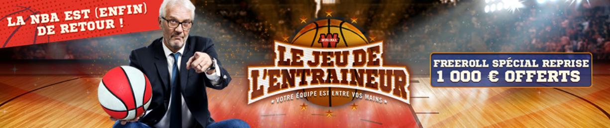 JEU DE L'ENTRAINEUR NBA