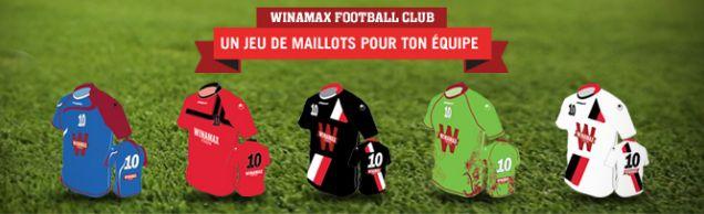 Maillots foot Winamax