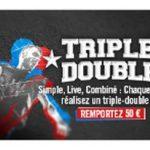 Parier sur la NBA avec Winamax : matchs retransmis en direct et challenge Triple-Double