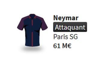 Neymar JDE Winamax