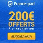 200 euros de bonus offerts sur France-Pari
