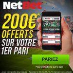 Bonus de bienvenue NetBet : jusqu'à 100 euros offerts