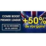 Offre Netbet Premier League: un bonus pour vos paris combinés