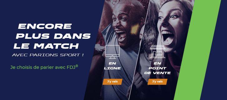 Parions Sport Web : le site de paris sportifs de la Française des Jeux