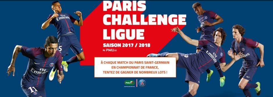 Paris Challenge Ligue : la compétition 100% PSG du PMU