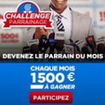 Parrainage Betclic: jusqu'à 500 euros de bonus pour le meilleur parrain