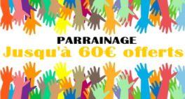Parrainage Feelingbet : jusqu'à 60€ offerts par filleul
