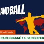Championnat du monde de handball PMU : 1 pari engagé = 1 PARI OFFERT